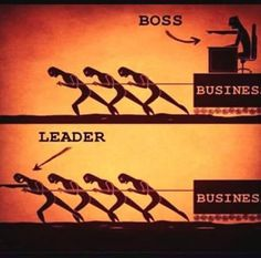 Funny pictures about Boss or leader? Oh, and cool pics about Boss or leader? Also, Boss or leader? Boss Vs Leader, Leader Vs Manager, Team Leader, Leadership Quotes, Servant Leadership, Leader Quotes, Leadership Summit, Leadership Lessons, Leadership Qualities