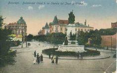 BU-F-01073-5-05582-04 Bulevardul Carol I din Bucureşti. Statuia lui Ion Brătianu, s. d. (sine dato) (niv.Document) Romania, Dan, Memories, Country, Beautiful, Bucharest, Memoirs, Souvenirs, Rural Area
