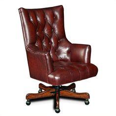 Found it at cymax.com - Hooker Furniture Seven Seas  Office Chair in Sedona Junipine