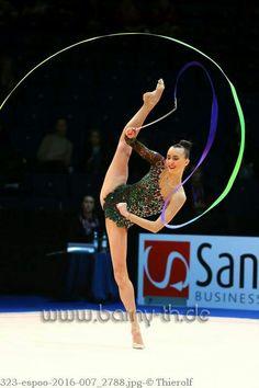 neviana vladinova bulgaria world cup espoo 2016 rhythmic gymnastics ribbon pinterest. Black Bedroom Furniture Sets. Home Design Ideas