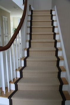 staircase runners | ... Runners - traditional - staircase - new york - by Custom Stair Runners