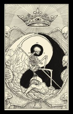 Death ( Tarot Card ) by http://erikemiranda.deviantart.com on @DeviantArt