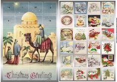 Star Over Bethlehem Advent Calendar