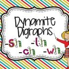 Dynamite Digraphs: sh, ch, th and wh