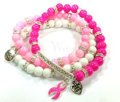 Think Pink for Breast Cancer With This Bracelet