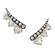 Les boucles d'oreilles en diamants de Jemma Wynne