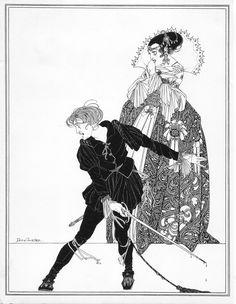 Hamlet and Gertrude by John Austen