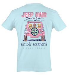 DON'T CARE  Jeep Hair Don't Care - On Sale Now!! 30% Off While Supplies Last at Spotted Moon Adult Sizes