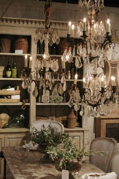 Eloquence Antiques at High Point Market via FRENCH COUNTRY COTTAGE: Design & You