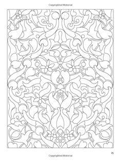 Creative Haven Crazy Paisley Coloring Book Dover Design