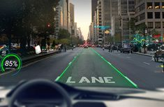 WayRay, a swiss-based tech company, is looking to use AR technology to turn the windscreen of your car into a holographic navigation system that works as part of a connected car system.