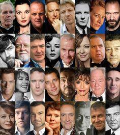 Did you know that all these great actors studied at RADA (The Royal Academy Of Dramatic Art), London? Here are just some of them. Two in here acted on FOR GREATER GLORY and TREASURE HUNTERS, our films. Who did? ——- ¿Sabías que todos estos grandes actores estudiaron en RADA, en Londres? Estos son únicamente algunos. Dos de ellos actuaron en nuestras películas CRISTIADA y LA LEYENDA DEL TESORO. ¿Quienes son?  #RADA #TheRoyalAcademyOfDramaticArt