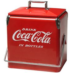 Coca Cola 1940s Replica Tin Cooler Picnic CoolerIce CoolerVintage