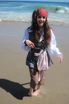 Jack Sparrow Costume - Thanks Elodie! #costumes #halloween #pirate