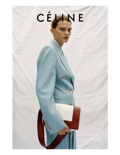Laura Morgan and Lena Hardt by Talia for Céline Resort 2017