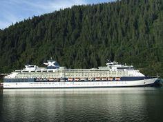 Celebrity Infinity Cruise Ship in Juneau, Alaska