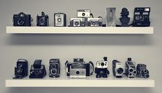 10 inspiring ways to display a vintage camera collection | Buy 120 film - The Photography BlogBuy 120 film – The Photography Blog