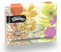 Kleenex Facial Tissue, Wallet Size