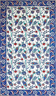 turkish_tile_art_serbet_laleler_b.jpg (709×1207)