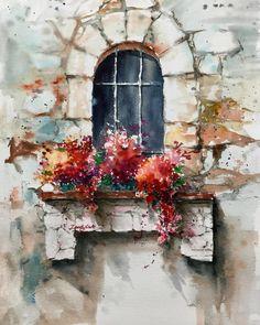 Sunny day#waterblog #watercolor #watercolorart #watercolorartist #watercolorflowers #aquarelle #aquarel #acuarela #akwarela #sunnydays #window #art #artist #paint #paper #blick #flowers #oilpaintingartist #instaart #instaartist #sketch #inspiration #그림 #그림그리기 #그림스타그램 #아트스타그램 #수채화 #화가 #화가현정숙 #paintinghyun