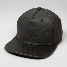 King Apparel - Staple Boss Snapback Cap - Black