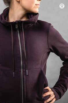Slow Down to Speed up. A jacket for the in between moments - Press Pause Jacket.