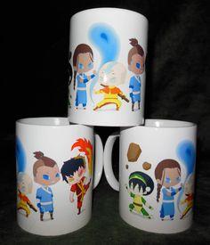 Avatar: the Last Airbender coffee mug. It's so cute! @Annie Nelson , Christmas present? :3