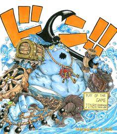 Overwatch x One Piece: Jinbe as Roadhog By Han Suk Bum One Piece Crossover, One Piece Meme, One Piece Series, Anime One Piece, One Piece World, One Piece Comic, One Piece Fanart, Anime Crossover, Overwatch