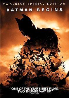 BATMAN BEGINS (DVD/SPECIAL EDITION GIFTSET/WS/2 DISC) @ niftywarehouse.com #NiftyWarehouse #Batman #DC #Comics #ComicBooks