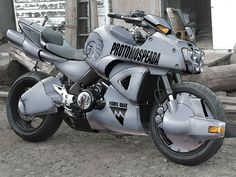 Super Punch: Macross motorcycle