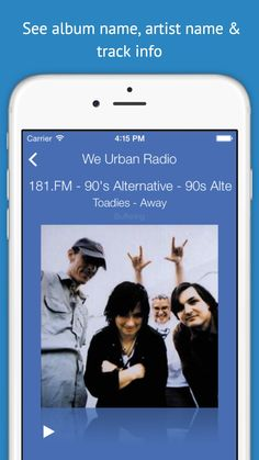 It takes very little time to switch from one station to another. Once you see the picture of your favorite station, adjust the volume of the music by manipulating the green bar on the bottom of the app, hit the play button (little triangle on the left) and you are off to the races.