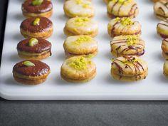 Recette de Biscuits aux pistaches et confiture de figues
