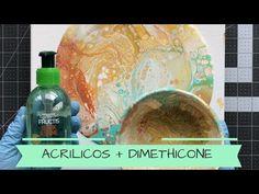 COMO PINTAR UN CUADRO FACIL | Técnica Acrylic Pouring - YouTube