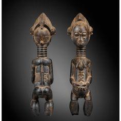 Très belle statue, Baulé, Côte d'Ivoire   Lot   Sotheby's