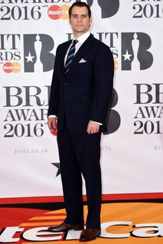 Henry Cavill Is Certainly Super At The Brit Awards, 2016