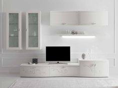 Italian Wall Unit Prestige Liberty 107 White by Spar - $6,325.00 ...
