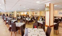 Hotel RH Casablanca - Restaurante Casablanca, Conference Room, Exterior, Table, Furniture, Home Decor, Hotels, Restaurants, Pictures