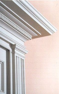 Traditional Trim.  Johnson, Craven & Gibson Architects, Charlottesville Virginia
