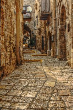 Inside the Old City of Rhodes, Greece.