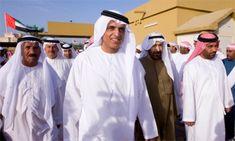 Sheikh Saud bin Saqr Al Qasimi giving an introduction to the UAE