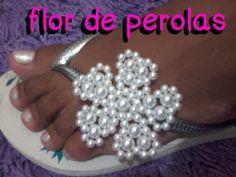 Flor de pérolas por Adriele Leite