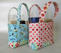 Not to mention these... small fabric gift bags.