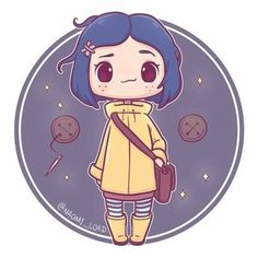 I absolutely love Coraline, the visuals are just so cool a sassy cat creepy d… – Chibi zeichnungen – - Metarnews Sites Anime Chibi, Kawaii Chibi, Cute Chibi, Kawaii Art, Kawaii Anime, Anime Art, Halloween Illustration, Halloween Drawings, Cute Kawaii Drawings