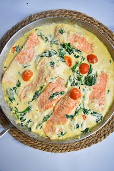 Saumon à la toscane Cheeseburger Chowder, Quiche, Soup, Breakfast, All Food Recipes, Indian Recipes, Dish, Food, Italy