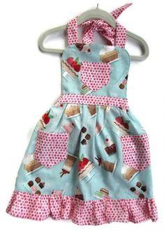 43 Trendy Diy Kids Apron Pattern Little Girls Childrens Apron Pattern, Child Apron Pattern, Apron Pattern Free, Childrens Aprons, Kids Apron Patterns, Clothing Patterns, Sewing Patterns, Toddler Apron, Apron Designs