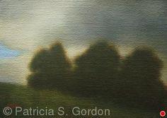 """In Flux by Patricia Gordon Oil ~ 5"""" x 7"""""""