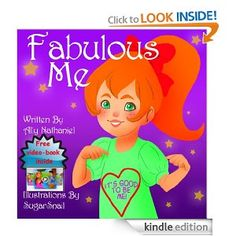 """Amazon.com: Children's storybook-""""Fabulous Me"""" (Girls Empowerment & Self Esteem Level 1 and 2 reading books (Picture Books For Children Ages..."""