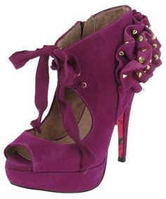 3740a937757a7 Betsey Johnson Dress Shoes Purple Dress Shoes