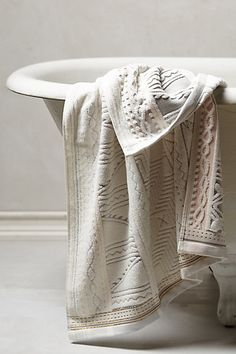 Windstream Towel Collection #anthropologie <--- :-)