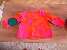 Vintage Marimekko Suomi FInland childrens top